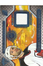 2000/1 Private Stock Titanium Game Used jersey card Scott Niedermayer Devils