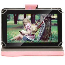 "iRULU 9"" 8GB Google Android 4.4 KitKat GMS Quad Core Tablet PC w/ Pink Case"