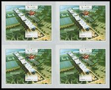 China 2010-3 Mini S/S Uncut Shanghai Expo Stadium Architecture Stamps