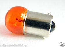 Motorcycle Car Scooter Universal Indicator Bulb 12V 10W BA15s Small Head Orange