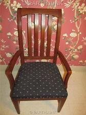Ethan Allen American Impressions Autumn Cherry Splatback Arm Chair 24 6401A