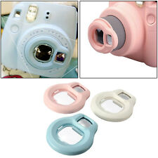 Fuji Selfie Mirror Close-up Lens Grape fit Fujifilm Instax Mini 8 7s Camera Pink
