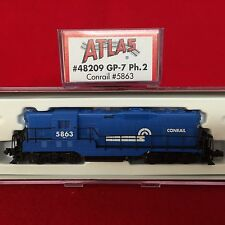 48209 Atlas N Scale GP-7 Conrail Engine NIB