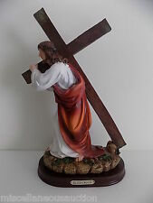 "Station of the Cross 12"" Figurine/Statue / Via Crucis  figurin de 30cm. / Jesus"