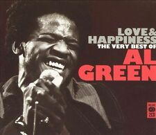 Love & Happiness: The Best of Al Green (Vocals) NEW SEALED CD, Sep-2005, 2 DISCS
