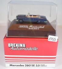 Brekina 1/87 2105 Meisterstück Mercedes Benz 280SE 3,5 Coupe/Cabrio N3 OVP #1999