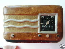 TIRELIRE ANCIENNE FORME POSTE RADIO ANNEES 30 / ART DECO