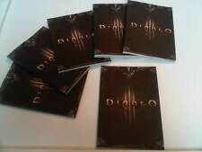 DIABLO 3 Mini Promo Note Book - PS3 XBOX 360 Gaming Merchandise Collectable