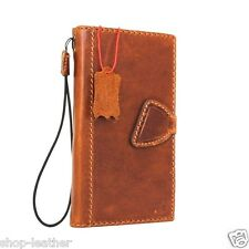 genuine leather Case for Samsung Galaxy S7 Edge book wallet cover magnet luxury