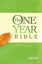 The One Year Bible NIV (2015, Paperback)