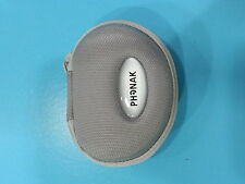 Phonak Hearing Aid Soft Case Silver Color for travelling