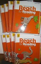 Nat'l Geographic Reach for Reading, Grade 1, Set of 8 Teacher Edition Units