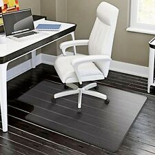 "48""x36"" Plastic Floor Mat Clear Protector Office Chair Rug Carpet Computer Desk"