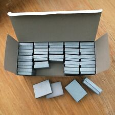 16 Small BLACK Card Gift Boxes 40x60x18mm Jewellery Earrings 62p Each