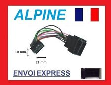 Cable adaptateur ISO autoradio ALPINE CDE-9873RB ; CDE-9874RB ; CDE-9880R