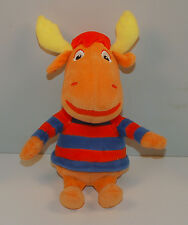 "9"" Tyrone the Moose Plush Stuffed Ty Beanie Baby Action Figure Backyardigans"