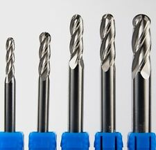 "5/16""dia  Ball-nose Solid Carbide End Mill. 4 Flute, Ball End, General Purpose"