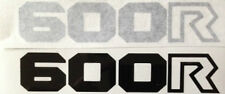 HONDA XL600 XL600R SIDE PANEL DECALS 2