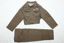 Vintage GI Joe MP Ike Jacket/Pants- 1st Issue Olive Drab - Hong Kong Tagged -'64