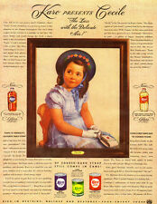 1940 AD, portrait of Cecile, Dionne Quintuplets presented by Karo Syrup-102313