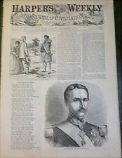 Prince of Wales Cartoon  Real v Ideal Image 1860 Italy King Francesco II  Naples