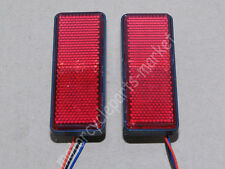 2X LED Reflector Rear Tail Brake Stop Marker Light CAR Truck Trailer Motorcycle