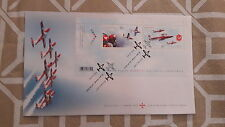 2006 CANADA- Canadian Forces Snowbirds 1971-2006 FDC STAMPS