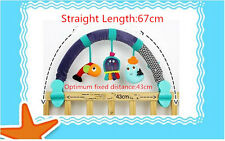 Newbron Baby Car Seat/Stroller/ Travel Arch Cot Crib Hanging Toy Music Rattle