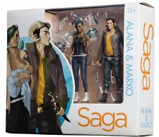 2016 SDCC Skybound BRIAN K VAUGHAN SAGA ALANA & MARKO 2 pack figure set!