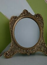 Antique Gold Gilt Baroque Style Mantel Mantle Ornate Dressing Table Mirror NEW