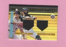 2001 SUMMER SCHOOL BATTERY MATES MIKE PIAZZA AL LEITER DUAL JERSEY