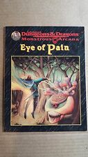 Eye of Pain Monstrous Arcana module Advanced Dungeons & Dragons 2nd Edition