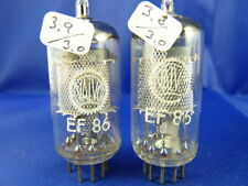 Matched Pair EF86 Valvo # NOS #  3,9/3,8mA (3,0mA=100%)(7584)