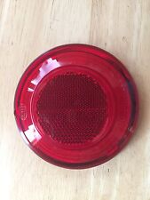 VINTAGE BMW HELLA TAIL LIGHT LENS W/LOGO FOR COFFEE CAN ON /2 REAR FENDERS