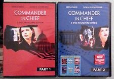 COMMANDER IN CHIEF part 1 / part 2   DVD NEW