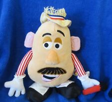 Mr. Potato Head With Microphone Stuffed 2005 Tattered Hat