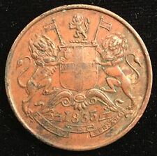 1835 Half Anna British East India Company - high grade, from USA