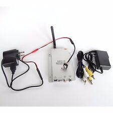 2.4G wireless white screw home security audio 900TVL camera + receiver SPY  CMA