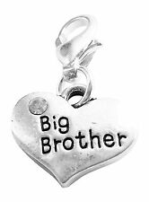 Big Brother Clip On Charm Handmade by Libby's Market Place - FREE P&P