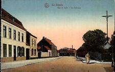 La Bassée Frankreich AK ~1910 Rue de Lille Le Calvaire Straßenansicht Carte Post