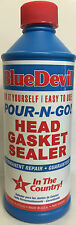 00209 Blue Devil Pour-N-Go Head Gasket Sealer - 16 Ounce #00209 Bars Leak 1100