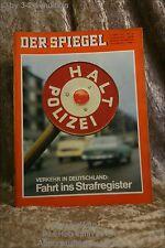 Der Spiegel 10/65 3.3.1965 Verkehr in Deutschland