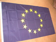 EUROPEAN UNION EU FLAG FLAGS 5'X3' POLYESTER BRAND NEW POST FREE IN UK