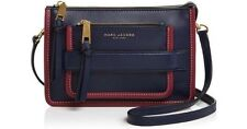 NWT Marc Jacobs Madison Medium Leather Shoulder Bag - Midnight Blue