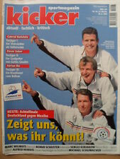 KICKER 54-29.6. 1998 Deutschland-Iran 2:0 Holland-Mexiko 2:2 Brasilien-Chile 4:1