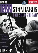John Stein Berklee Jazz Standards For Solo Guitar Learn Play TAB Music Book & CD