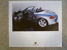 2001 Porsche Boxster Roadster Design Showroom Advertising Poster Awesome L@@K