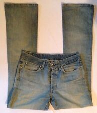 G-STAR RAW Denium Low Boot Light Wash Distressed Jeans Men's 33 X 36 Rivet