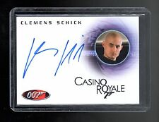 James Bond in Motion Clemens Schick autographed card