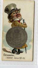 (Gx561-454) Duke, Coins of all Nations, Denmark 1889 G-VG